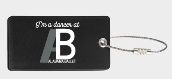 dance bag tag